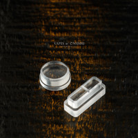 Delro Button Set for d60e, Clear