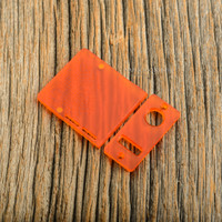 Delro Door & Button Plate Set, 2-Slot, Tangerine Dream