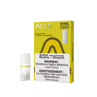 "Allo Sync Pod - ""Banana Ice"" (3 Pack)"