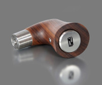 dicodes - yogs E-PIPE One - 60W 18650 Regulated Wood Pipe Mod, Walnut