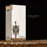 "Anino Lokal - ""Margarita BLAZE (Polished) Limited Edition"" Dual 18650 Mechanical Box Mod"