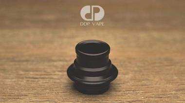 "DDP Vape - ""Typhon Drip Tip, Black Delrin"""