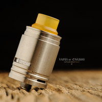 "Sector One Vapors - ""NXS RTA"" Silver SS"