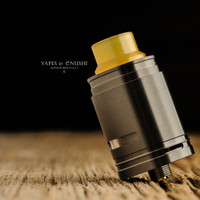 "Sector One Vapors - ""NXS RTA"" Gun Metal Black"
