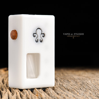 """Octopus Mods - """"L'Octopus White Edition"""" Bottom Feed Squonk Box"""