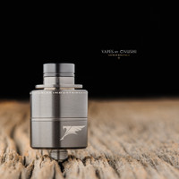 "Adler Industries - ""Mikro Tank"" RTA, Gun Metal Grey"