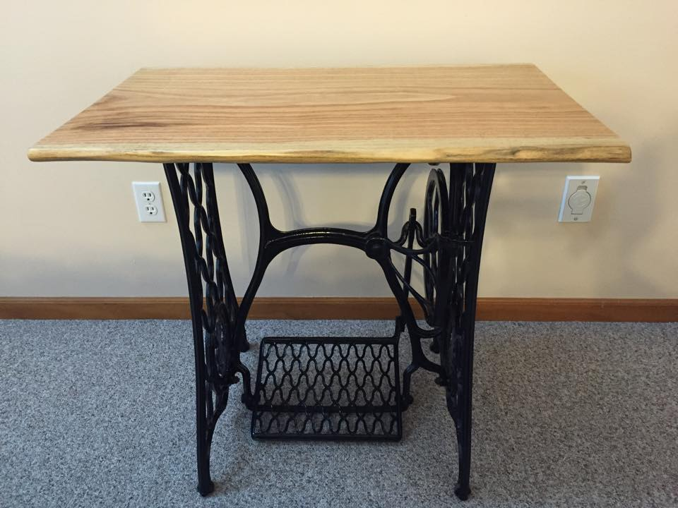 PROJECT FEATURE Singer Sewing Machine Table Top Urban Lumber Company Impressive Singer Sewing Machine Table