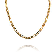Classic 14K Yellow Gold Figaro Necklace
