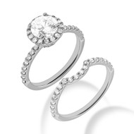 Willowbrook Custom Choice Pre-Set Diamond Bridal Set