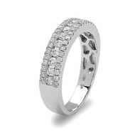 Bassali Sparkle Row Diamond Band