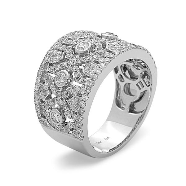 e2566eeeb0245c Bassali Muse Diamond Band Ring - Barsky Diamonds