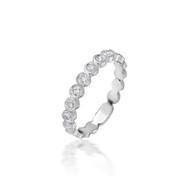Bassali Medium Bezel Set Ring