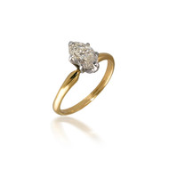 Diamond Marquise Solitaire Engagement Ring