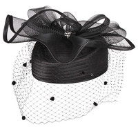 Womens Year Round Pillbox Hat