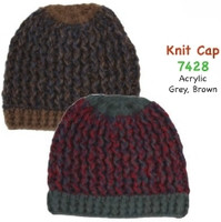 Women's Knit Beanie Cap,  mixed colors