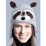 Raccoon Hat, Knit Original Delux Knitwits