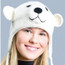 Spirit Bear Knit Hat, Original Delux Knitwits