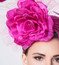 Close-up of Alyssa Fascinator