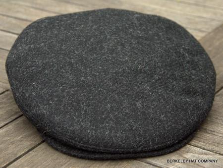 ee34bdea3efd3 Irish Black Wool Flat Cap Ivy (IR71)