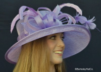 Cover Girl Kentucky Derby Hat in Lavender