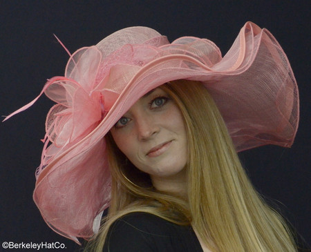 acfd1d82c59 Belmont Derby Hat in Pink