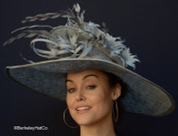 Day at the Races Hat in Grey