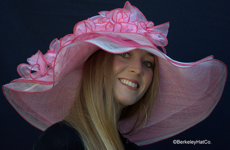 a8d297c0ee8 Pink Derby Bridal Shower Hat