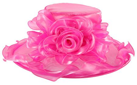 Bucket List Derby Hat in Pink