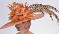 Nut Brown Gold Cup Derby Hat