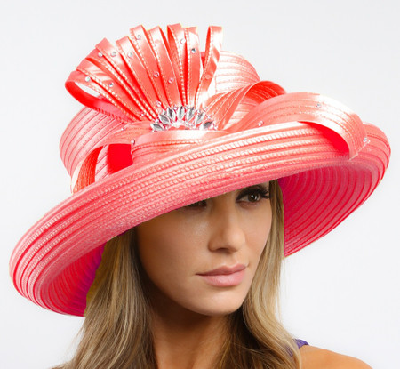 Coral Classic Year Round Kentucky Derby Hat.