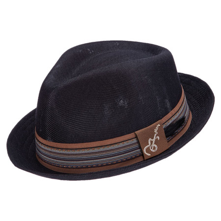 Santana Forward Fedora in Black