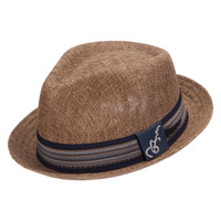Santana Forward Fedora in Brown