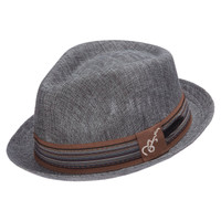 Santana Forward  Fedora in Grey