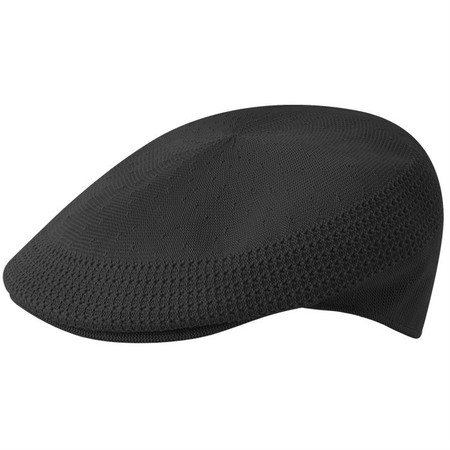 Kangol Tropic Ventair 504 Flat Cap - Black