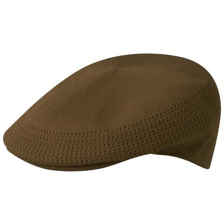 Kangol Tropic Ventair 504 Flat Cap - Dark Brown