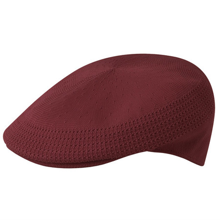 Kangol Tropic Ventair 504 Flat Cap - Burgundy