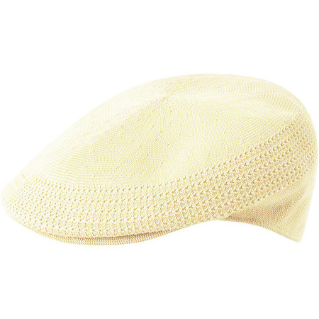 Kangol Tropic Ventair 504 Flat Cap - Natural