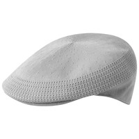 Kangol Tropic Ventair 504 Flat Cap - Light Grey