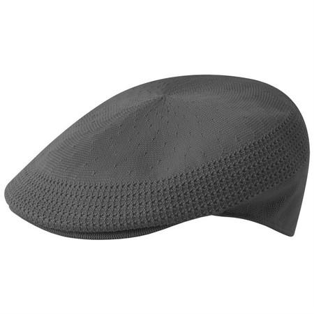 Kangol Tropic Ventair 504 Flat Cap - Dark Grey/Charcoal