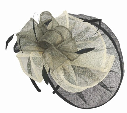 Cocktail Hat Layered Straw top view