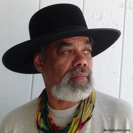 Stetson Amish black fur felt hat
