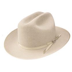 Stetson Open Road Cowboy Hat in Silverbelly 6f882b8636a