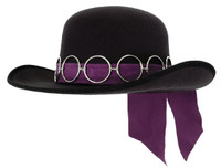 Jimi Hendrix Costume Hat by Elope