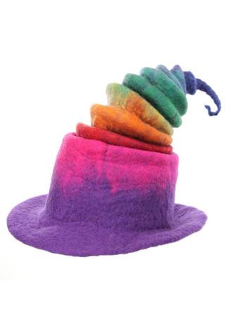 Rainbow Witch Hat