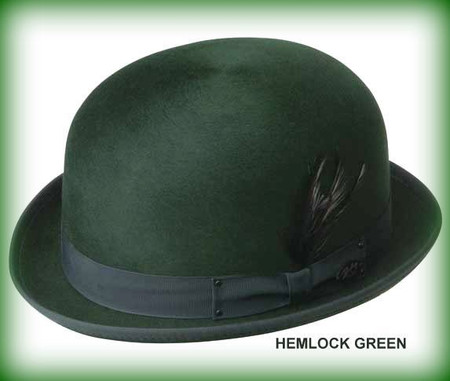 Harker Stingy Brim Derby in Hemlock Green