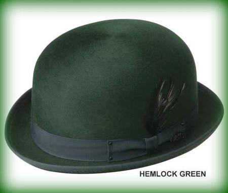 Harker Stingy Brim Derby in Hemlock Green