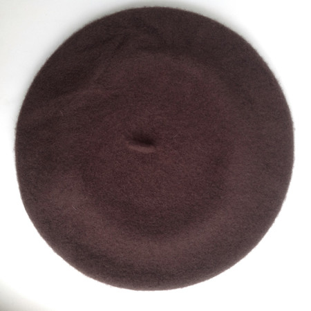 Parkhurst Canadian Basque Beret in Brown