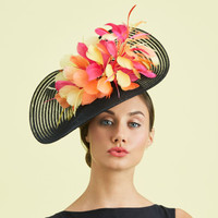 Jazzy Feather Fascinator