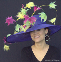 Purple Golden Gate Derby Hat - Free US Express Shipping