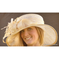 Champagne Royal Ascot Derby Hat